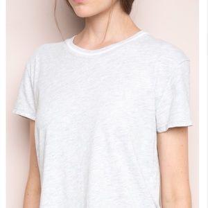 Brandy Melville Adalyn heather gray tee shirt